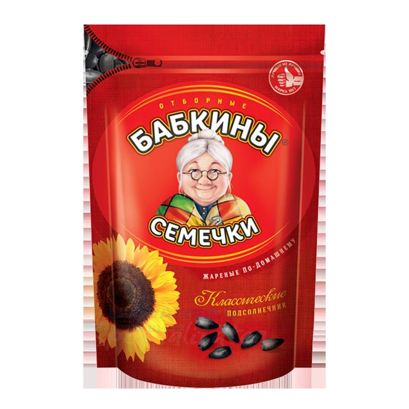 Sunflower seeds BABKINY 300g Snacks, chips