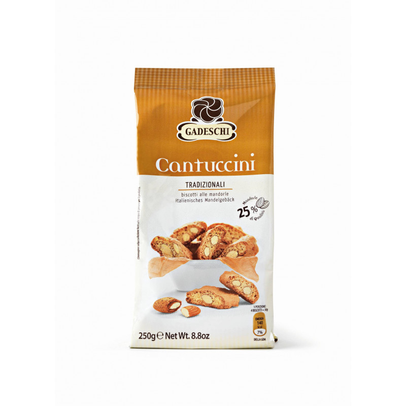 cantuccini traditional with almonds GADESCHI 250g Sweets, cookies