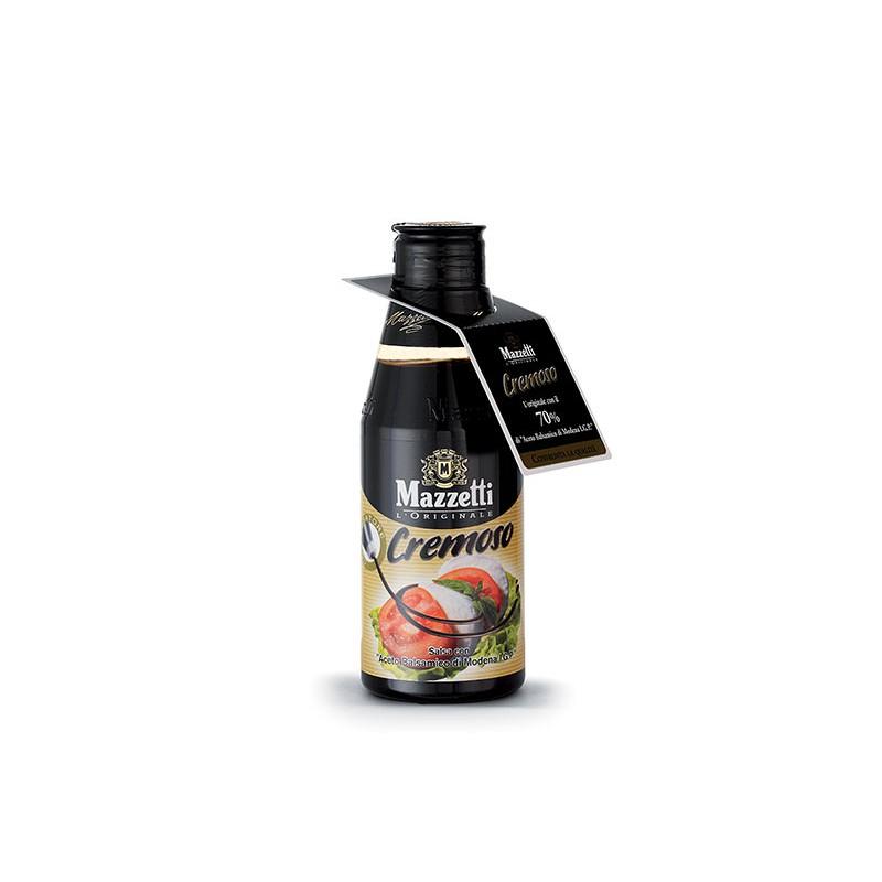 Balsamic glaze CREMOSO CLASSICO MAZZETTI 215ml Balsamic and condiments