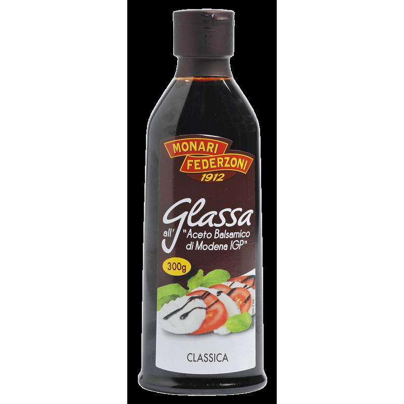 Glaze with Balsamic Vinegar classic GLASSA CLASSICA MONARI FEDERZONI 250ml Balsamic and condiments
