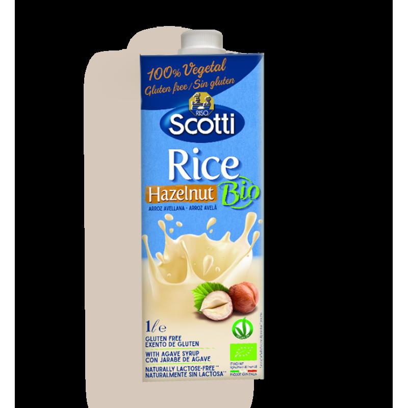 RICE DRINK WITH HAZELNUT RISO SCOTTI 1L BIO products