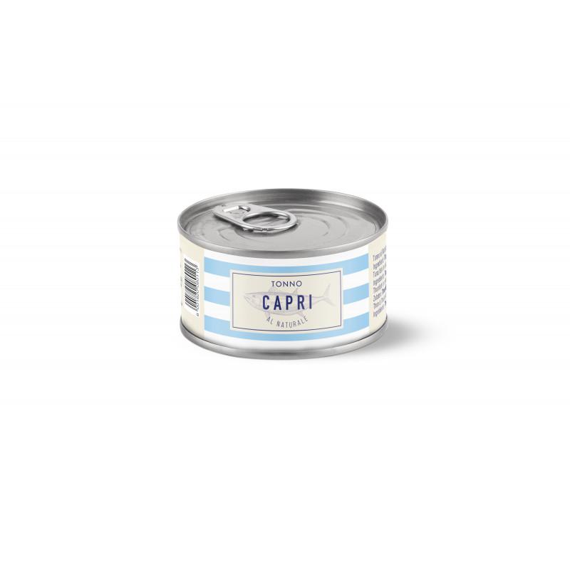 тунец в в собственном соку CAPRI 80g Консервированные продукты