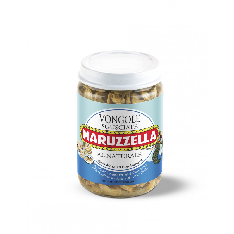 Моллюски в собственном соку MARUZZELLA 130g Консервированные продукты