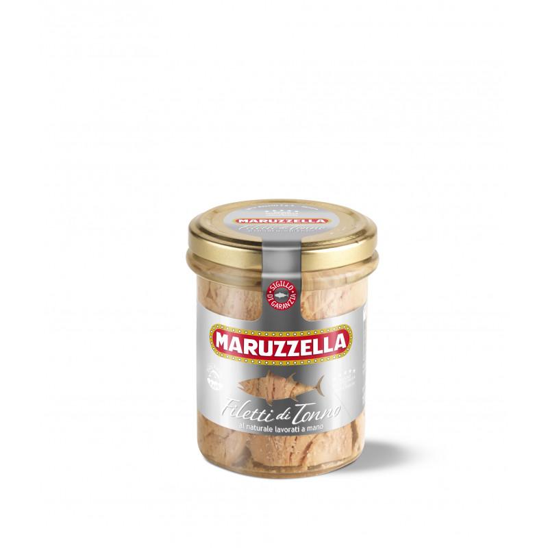 Натуральное филе тунца в собственном соку MARUZZELLA 185g Консервированные продукты