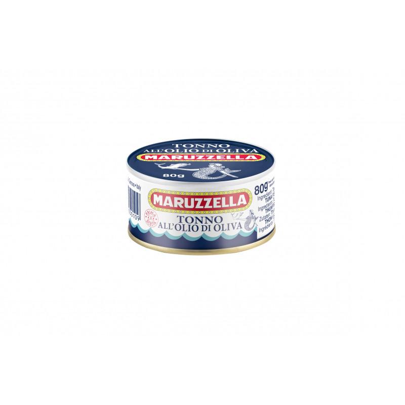 Тунец в оливковом масле MARUZZELLA 80g Консервированные продукты