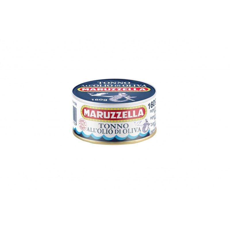 Тунец в оливковом масле MARUZZELLA 160g Консервированные продукты