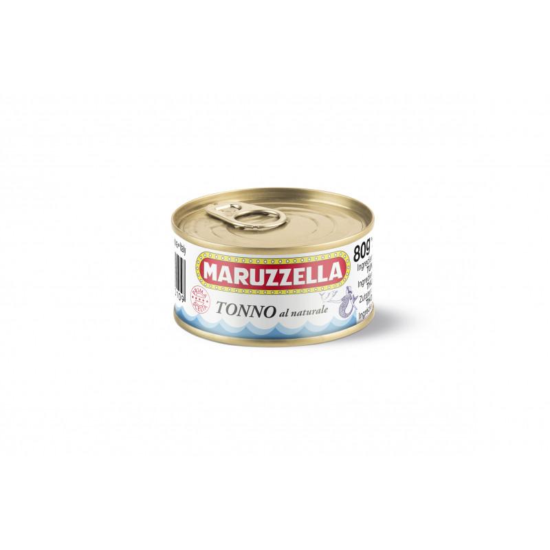 Тунец в собственном соку MARUZZELLA 80g Консервированные продукты