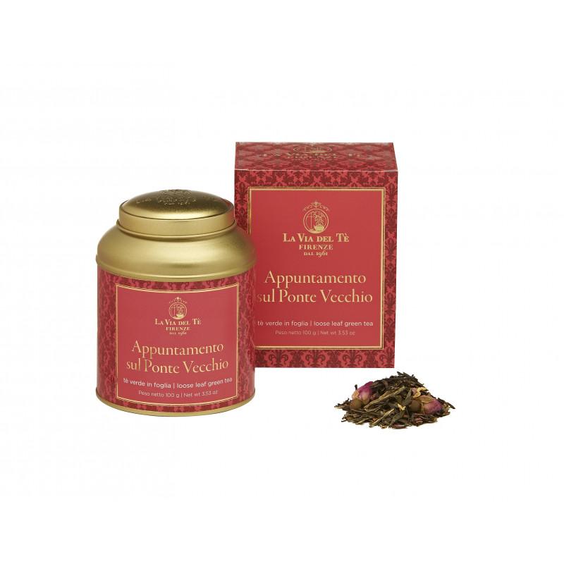 Green tea Appuntamento sul Ponte Vecchio LA VIA DEL TE Gift idea