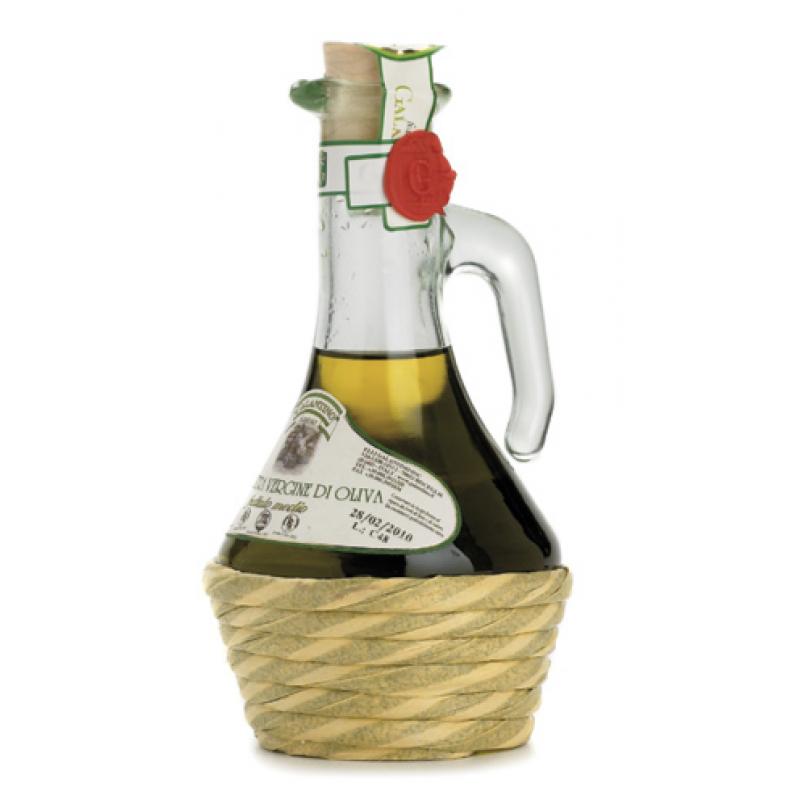 extra virgin olive oil glass bottle TUSCIA GALANTINO 250 ml Oils