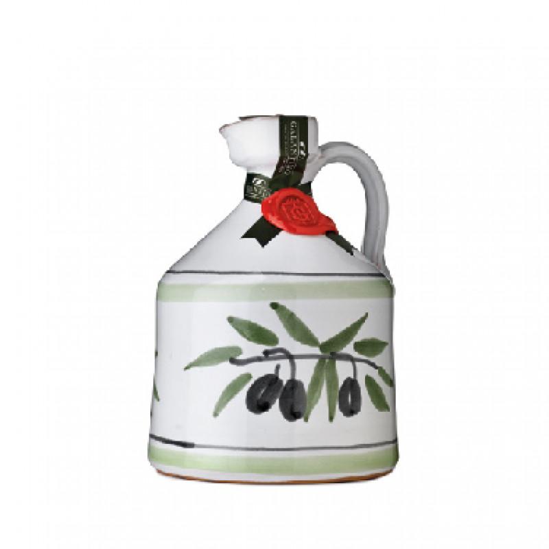 Extra Virgin Olive Oil Angel Ceramic Jar GALANTINO 500 ml Oils