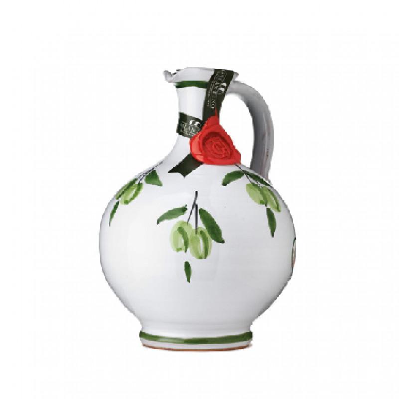 Extra Virgin Olive Oil RITA Ceramic Jar GALANTINO 500 ml Oils