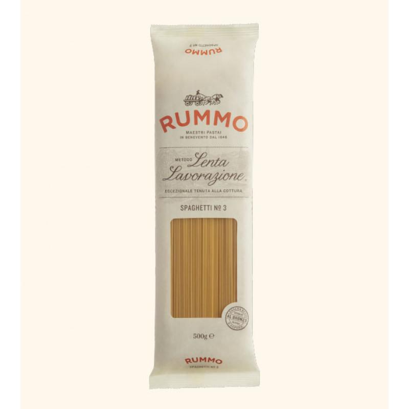 pasta SPAGHETTI Nº3 RUMMO 500g Rice and pasta