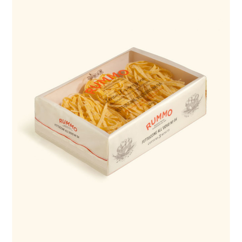 Egg Paste FETTUCCINE ALL'UOVO №94 RUMMO 250g Rice and pasta
