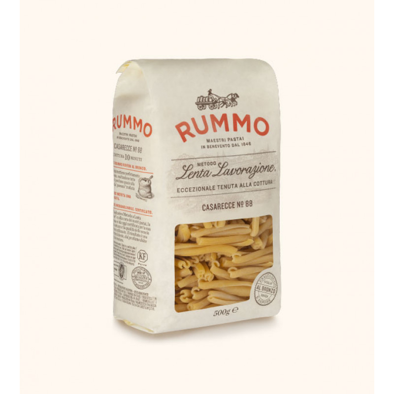 pasta CASARECCE Nº88 RUMMO 500g Rice and pasta