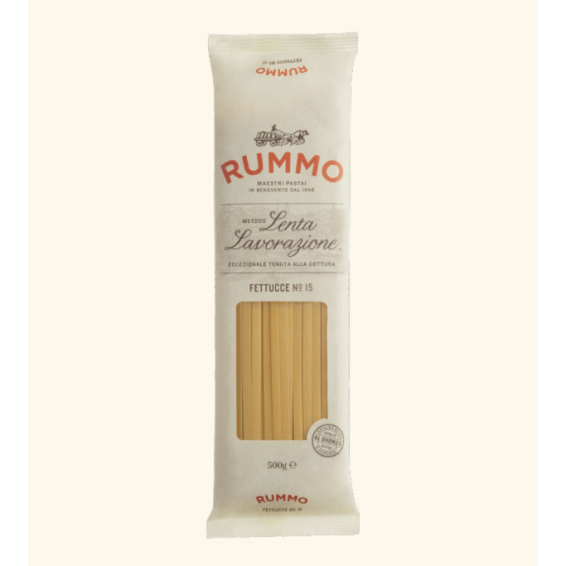 pasta FETTUCCE Nº15 RUMMO 500g Rice and pasta