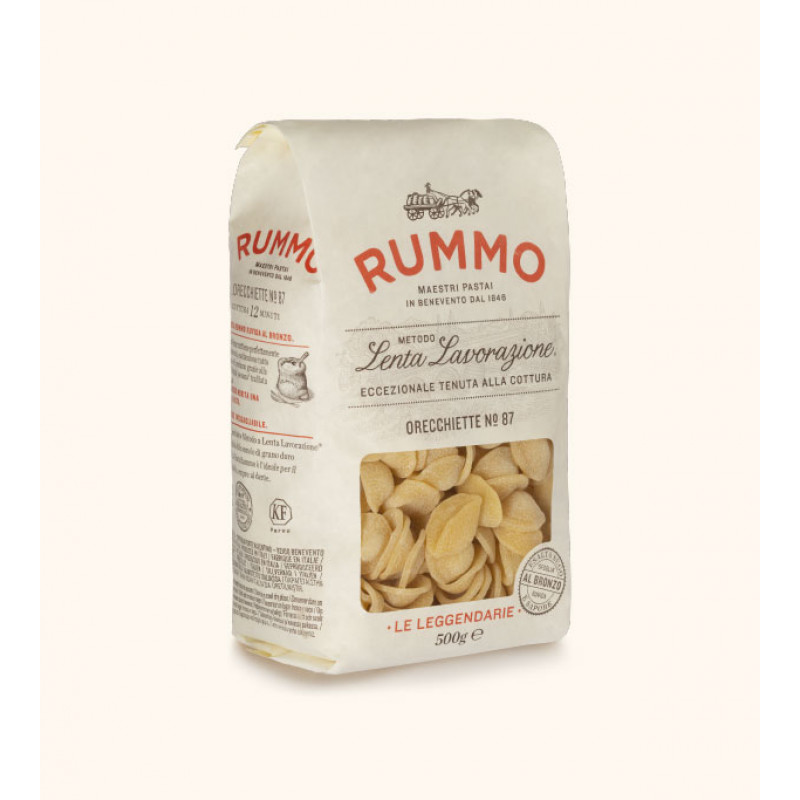 pasta ORECCHIETTE Nº87 RUMMO 500g Rice and pasta