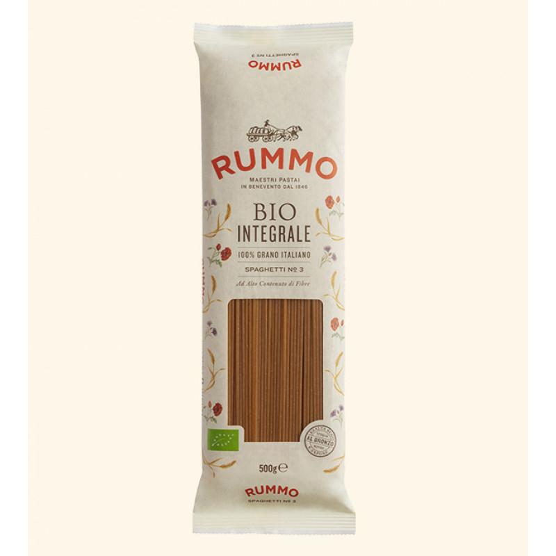 pasta BIO INTEGRALE SPAGHETTI Nº3 RUMMO 500g BIO products