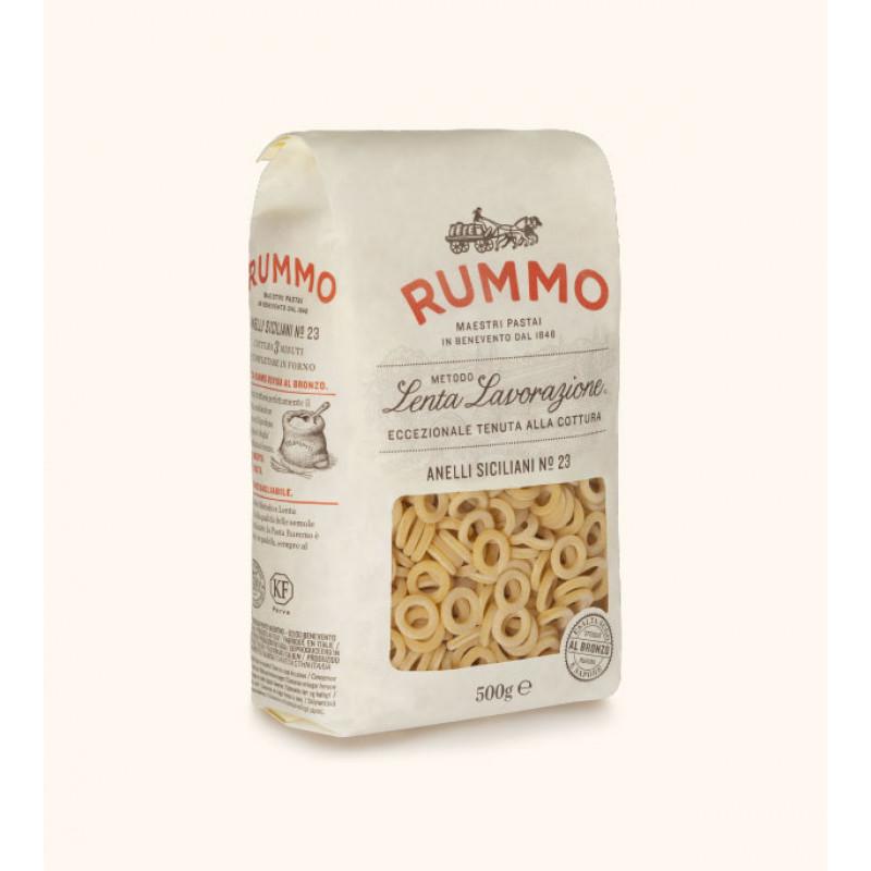 pasta ANELLI SICILIANI №23 RUMMO 500g Rice and pasta