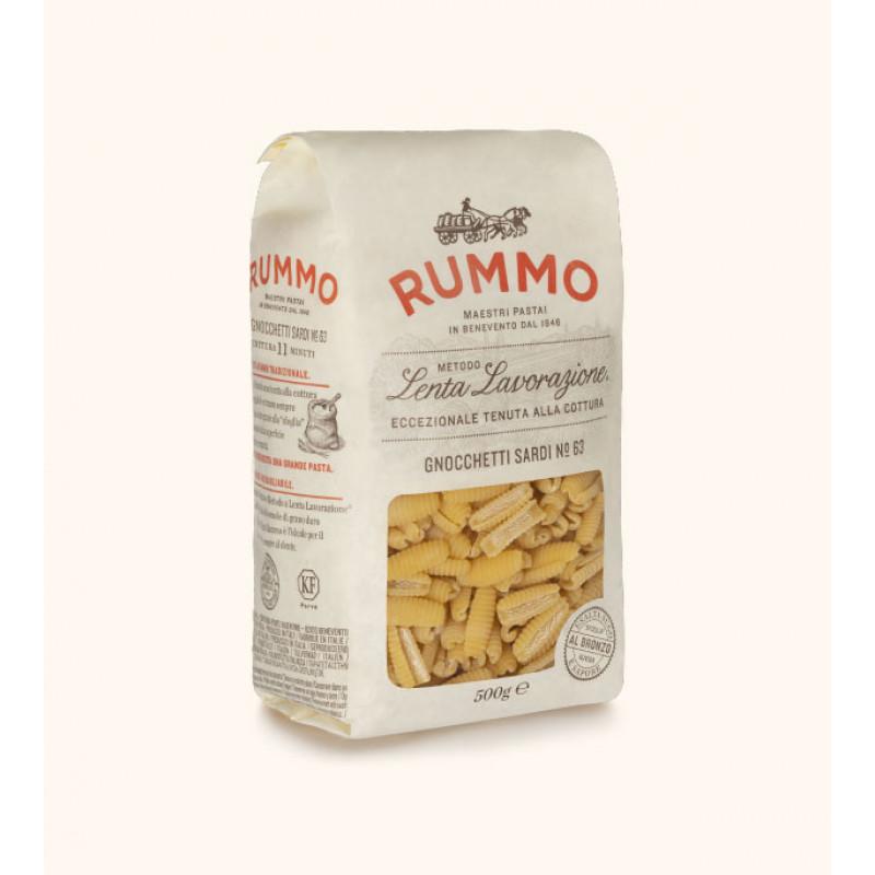 pasta GNOCCHETTI SARDI №63 RUMMO 500g Rice and pasta