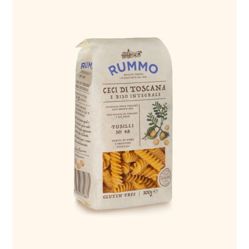 Chickpea and rice pasta FUSILLI AI CECI №48 RUMMO 300g Rice and pasta