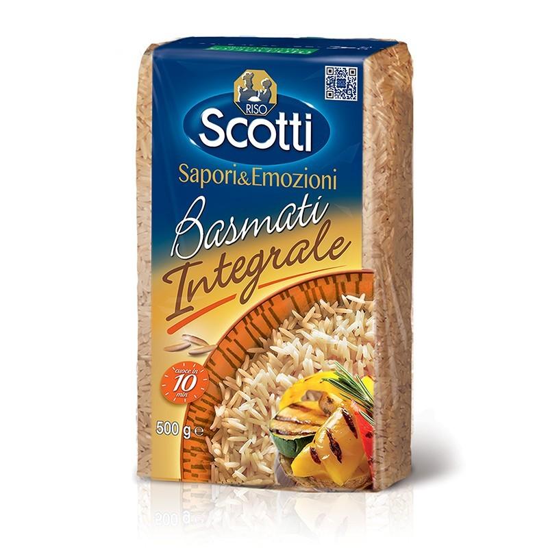 wholegrain Basmati rice RISO SCOTTI 500g Rice and pasta