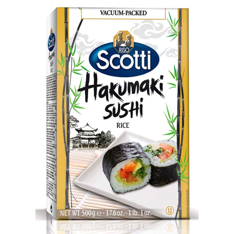 sushi rice hakumaki RISO SCOTTI 500g Rice and pasta