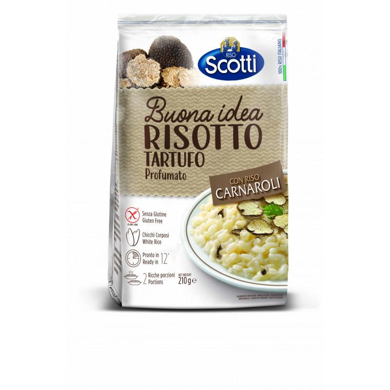 Risotto TARTUFO RISO SCOTTI 210g Rice and pasta