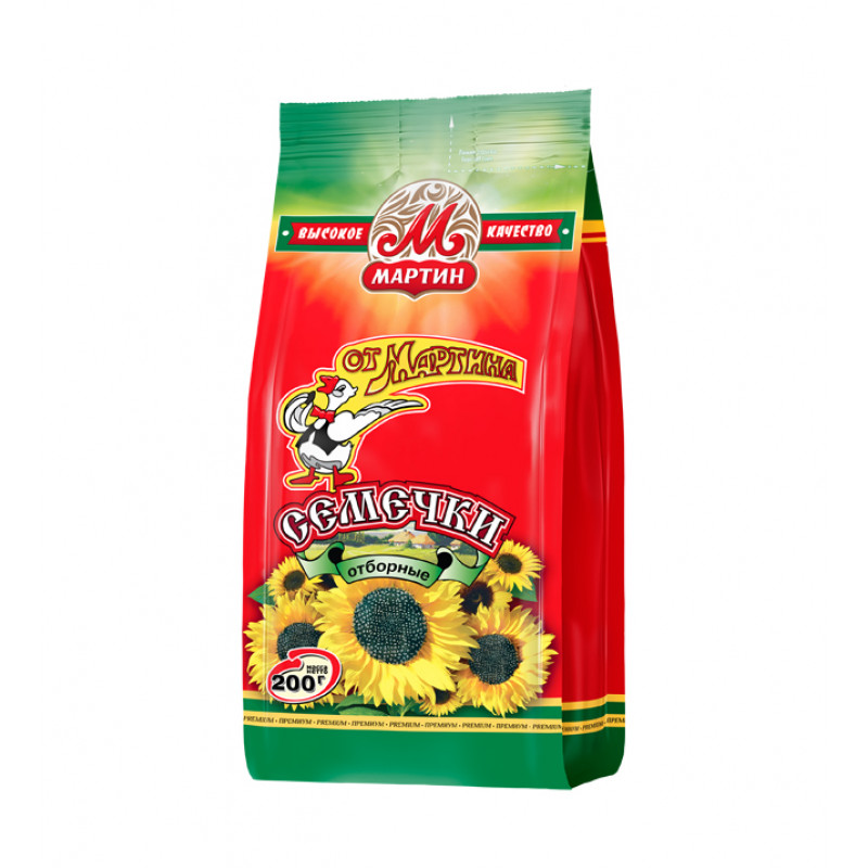 Seeds Ot Martina Selected Premium 200g Snacks, chips