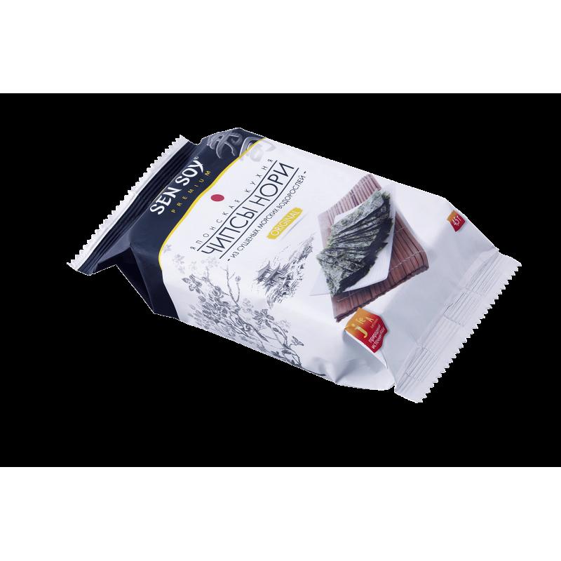 "Chips Nori from seaweed ""Originaal"" SEN SOY 4.5g Snacks, chips"