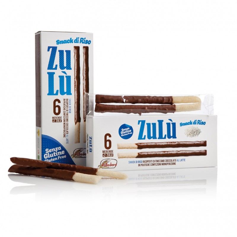 Rice breadsticks Latte ZULU VALLEDORO 140g Snacks, chips