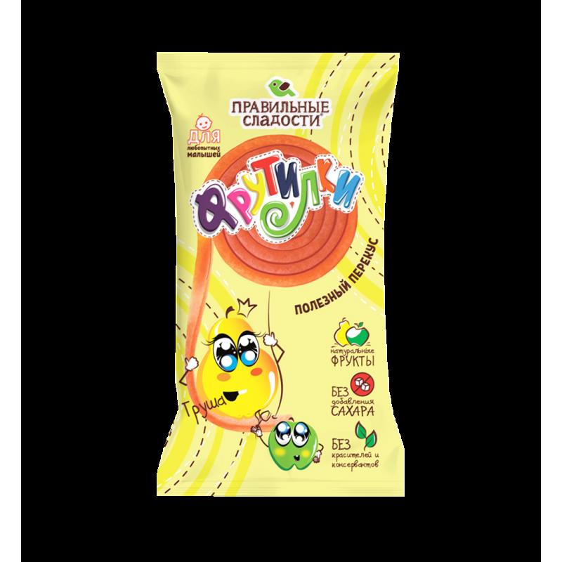 """Fruit pastilles Pear """"Frutilki"""" 15g Sweets, cookies"""