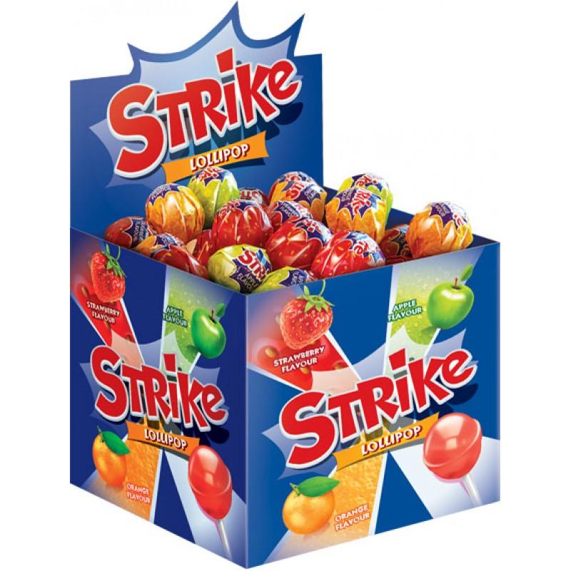 """Lollipop """"STRIKE"""" 11,3g Sweets, cookies"""