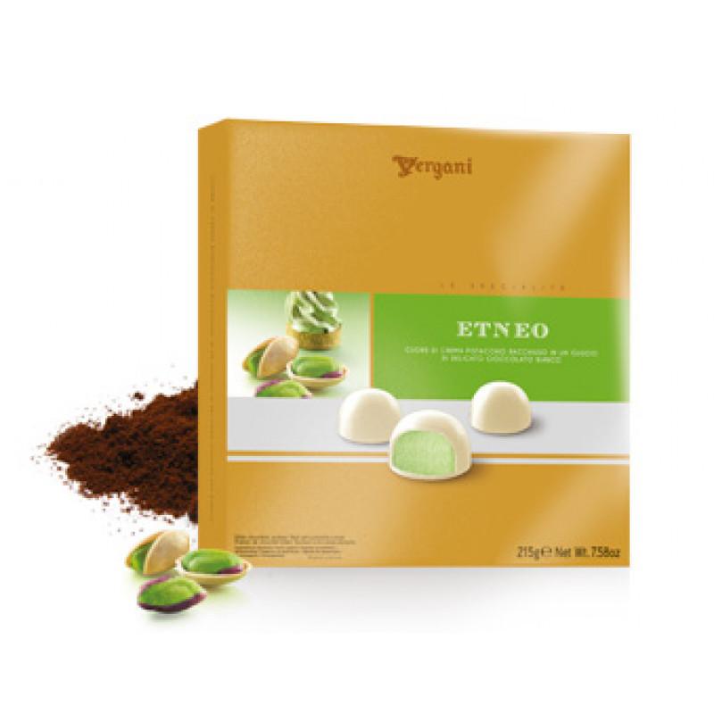 White chocolate ETNEO Pralines VERGANI 215g Sweets, cookies