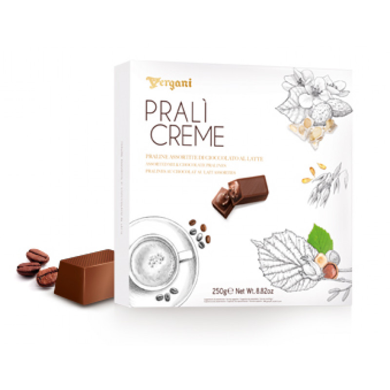 Assorted PRALI CREME VERGANI 250g Sweets, cookies