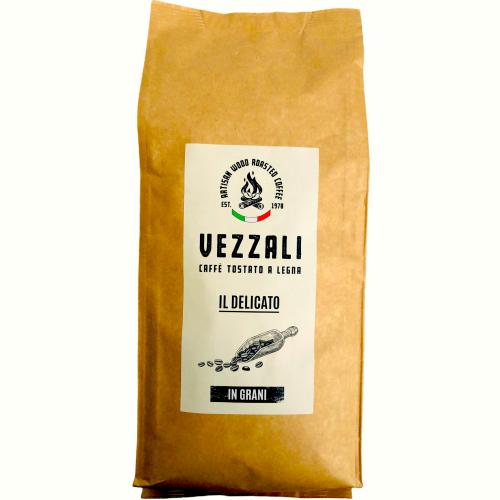 """Grain coffee roasted on wood """"IL Delicato"""" Vezzali 500g"""