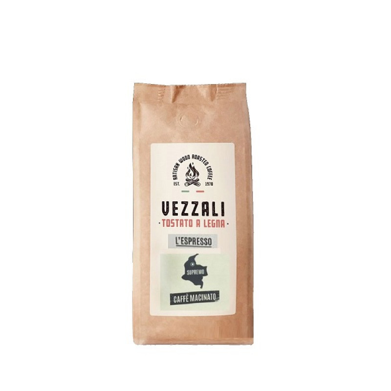 coffee ground L'Espresso Vezzali 200g Tea and coffee