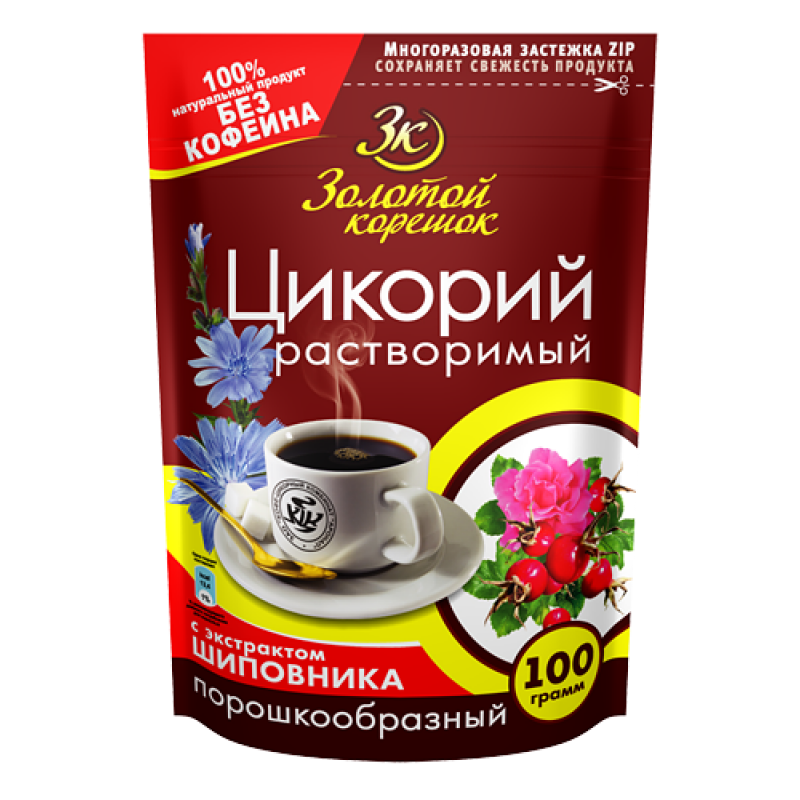 """Brier Chicory """"Golden root"""" 100g Tea and coffee"""