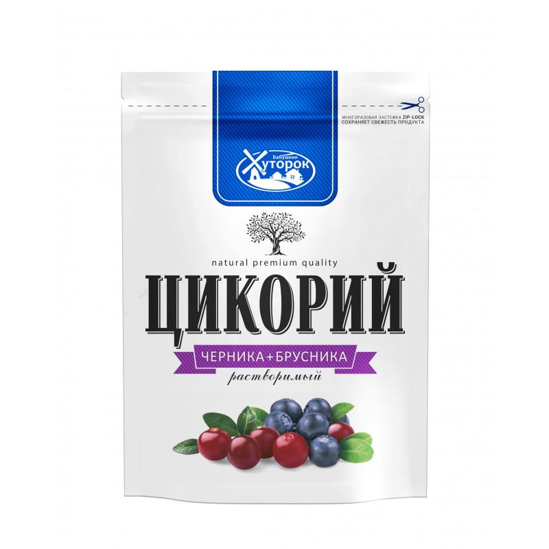 "Chicory with blueberry and lingonberry ""Babushkin hutorok"" 100g Tea and coffee"