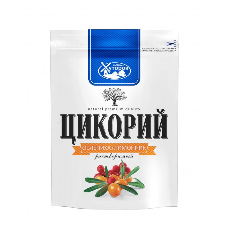 "Chicory with lemon grass and sea buckthorn ""Babushkin hutorok"" 100g Tea and coffee"